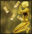 gold lady
