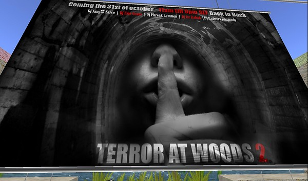 terror at woods