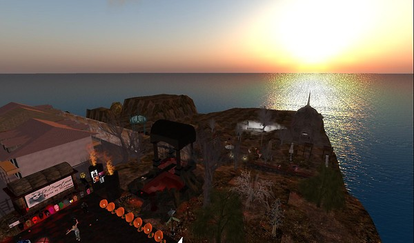 le cimetiere in second life