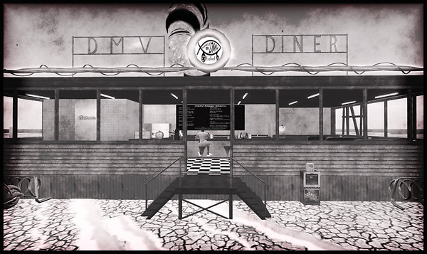 DMV Diner Burning Life 2009
