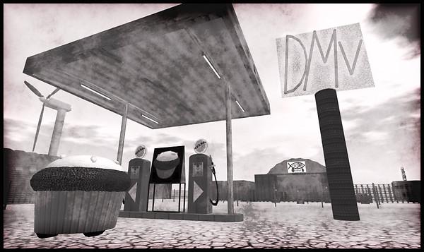 DMV Building Area Burning Life 2009