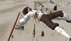 Gulliver's travel scene in Second Life - Koinup Burt