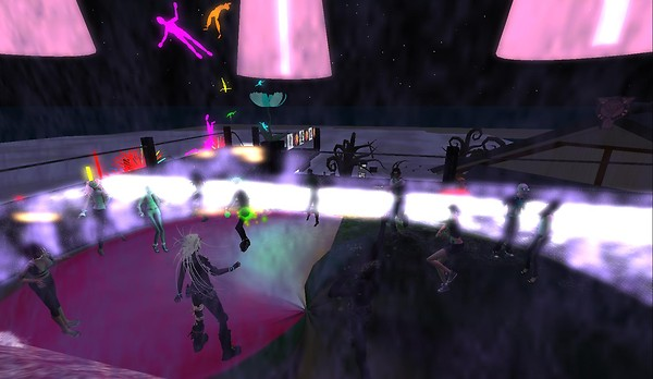 second life burning life party