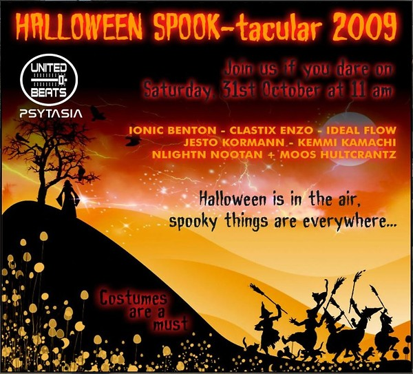 Halloween SPOOK-tacular 2009
