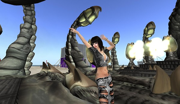 raftwet at berlin stage for dj...