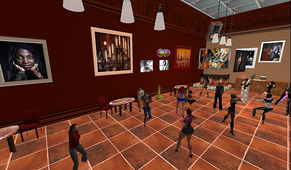 the citybar virtual world seco...