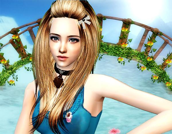 Blond haired girl