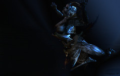 Alpha Auer Syncretia Sim WALLPAPPER blu by Cienega Soon