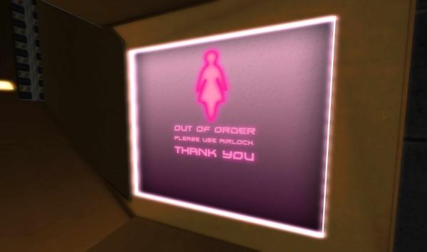 the ladies' restroom is having issues - Torley Olmstead