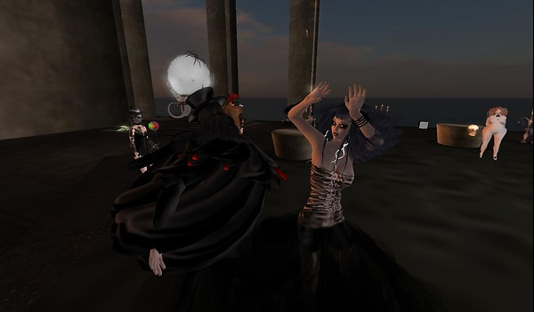 xavier, rafee at gothic club s...