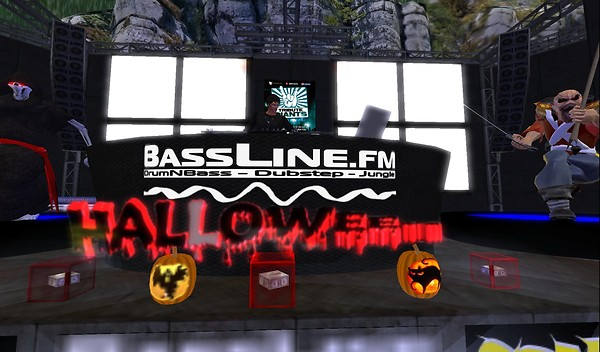 bassline.fm halloween party