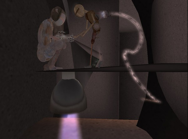 Through another portal... - Chimeracool Burner