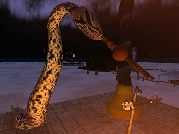 Snakes playing instruments! - Chimeracool Burner