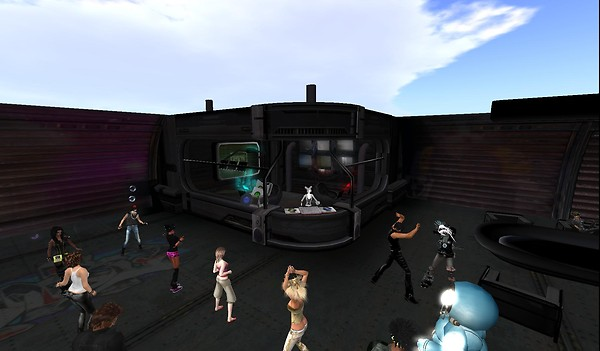 e-78 party in second life