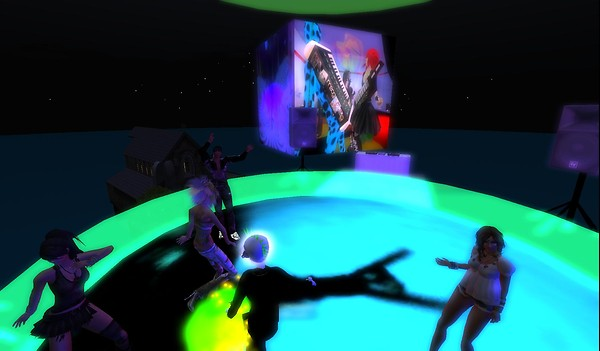 mr widget party in second life