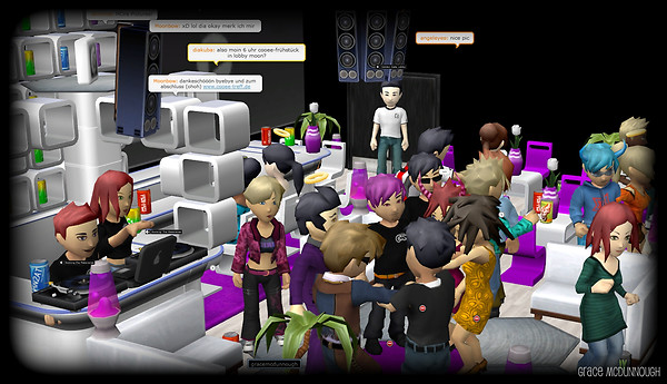 Rocking the Metaverse, Club Cooee Style