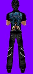 (EOE) Black Widow Biker T CAT