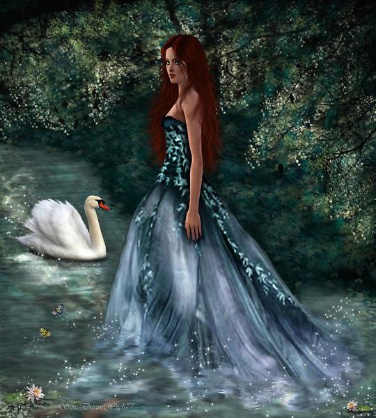 La dama del lago (The Sims 3)