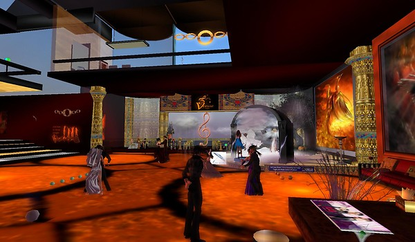 sunset jazz club in second life