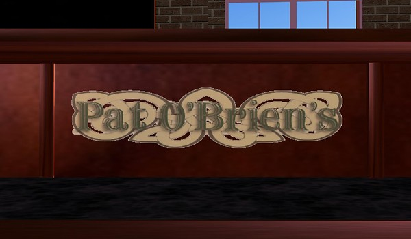 pat obriens in virtual world...