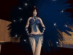 Kris in blue feathers_001