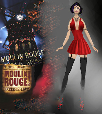 Moulin Rouge Playbill