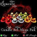 Elementz  Candles Mega Pak