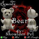 Elementz Shoulder pet - Bear -