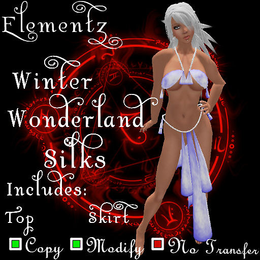 Elementz Season Silk Winter Wonderland