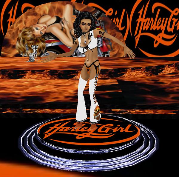 (EOE)Harley Girl DaNce Flyer