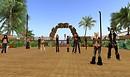 max kleene fans at kaleolani beach club