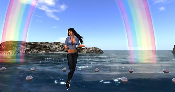Dancing under the rainbow