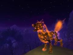 Feral skeletal wolf - Socks Clawtooth