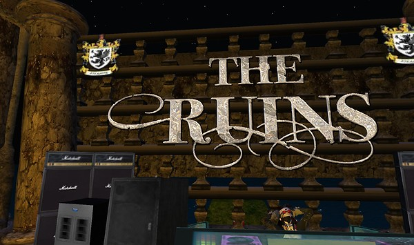 the ruins in second life
