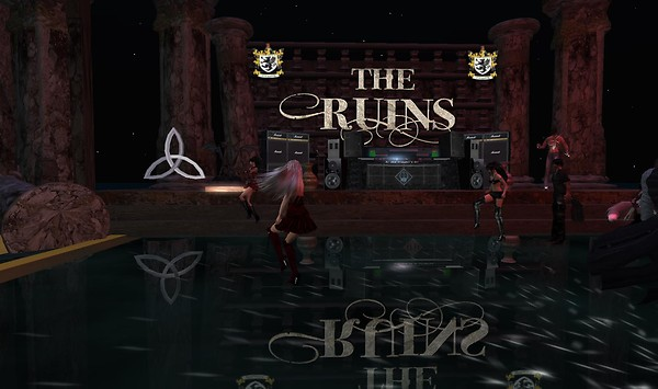 the ruins party in second life