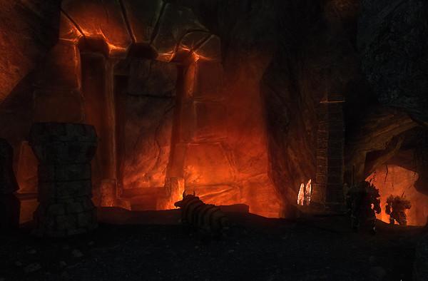 Vulcano Temple in Risen