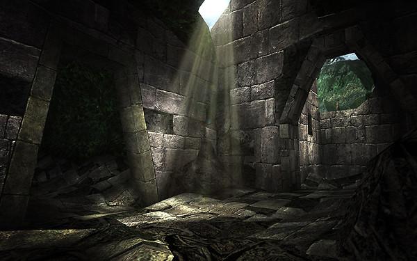 Tomb Raider Anniversary Ruin & Sun Beam