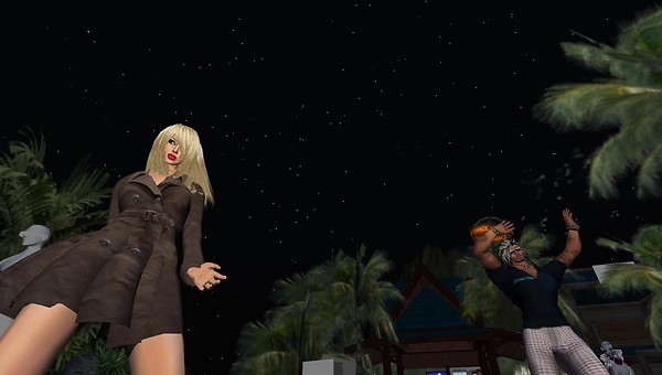 raftwet, night at haad rin party in second life