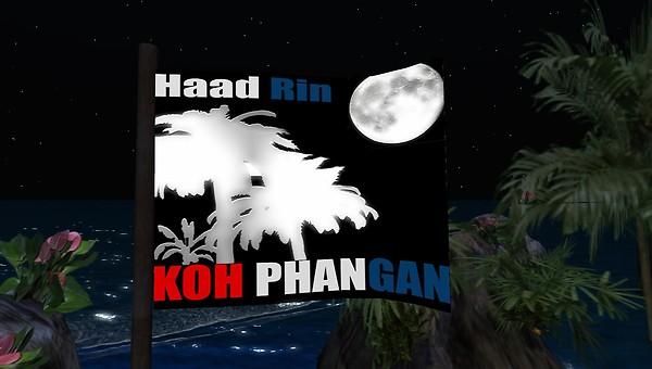 haad rin koh phangan in second life