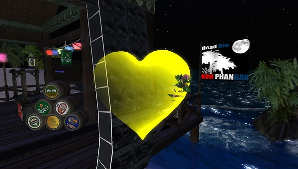 second life party on haad rin