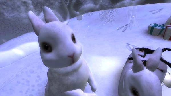 winterfest HPMD bunnies in second life