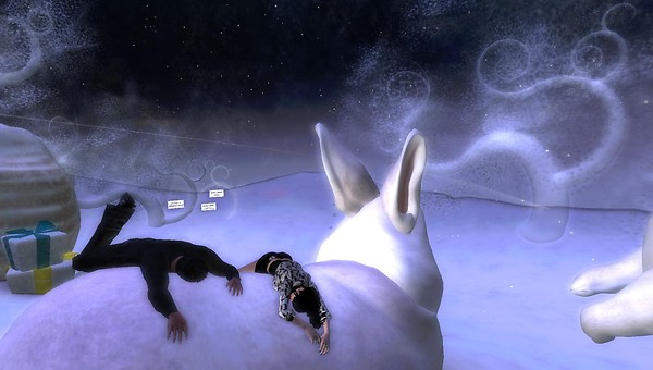 xavier, raftwet on bunnies at HPMD Winterfest
