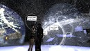 raftwet, xavier exploring winterfest site at HPMD
