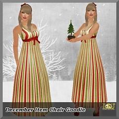 December Item Chair Goodie by LW*