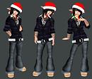not so christmassy christmas elf - 12/17/09