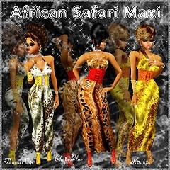 African Safari Maxi