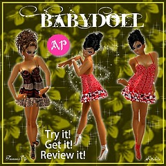 Babydoll strappy ap
