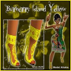 Burberry island yellow #105