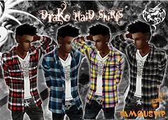 Drako plaid shirts