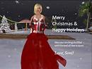Soni's Christmas Card to you!